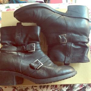 Cole Haan Moto Ankle Boots